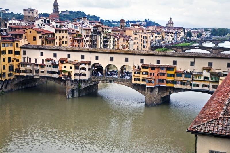 Pont célèbre à Florence images stock