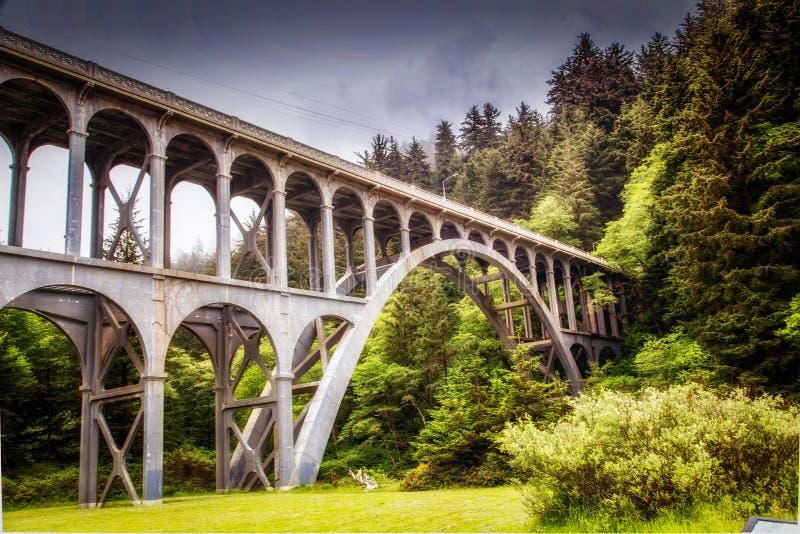 Pont côtier photos libres de droits