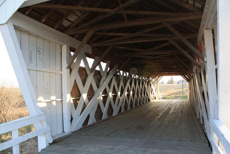 Pont couvert photo stock