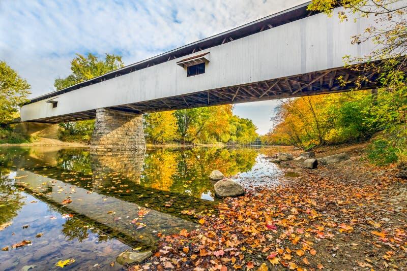 Pont couvert de potiers photos libres de droits