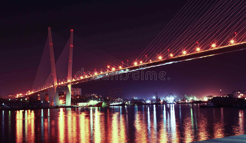 Pont d'or photos libres de droits