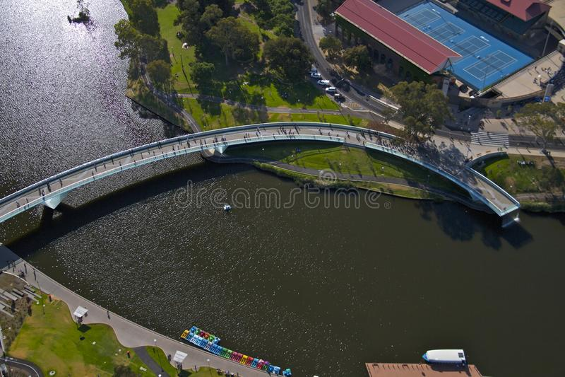 Pont d'Adelaïde photos stock