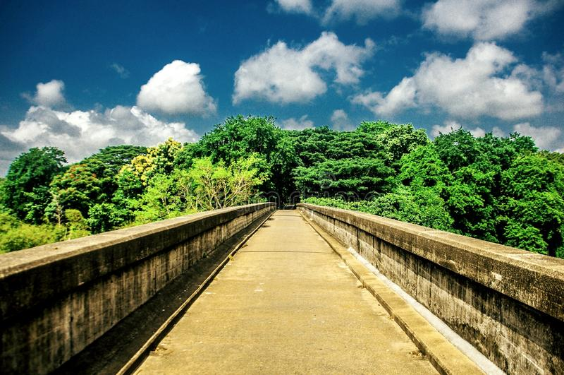 Pont d'Akbar photos libres de droits