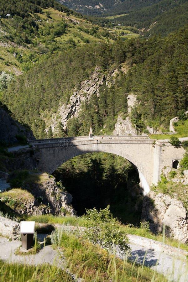 Pont d'Asfeld,法国 库存图片