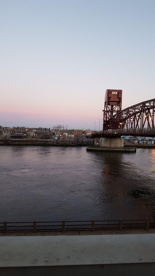 Pont d'aspiration image stock