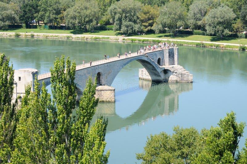Download Pont d'Avignon stock image. Image of benezet, rhone, reflection - 21274463