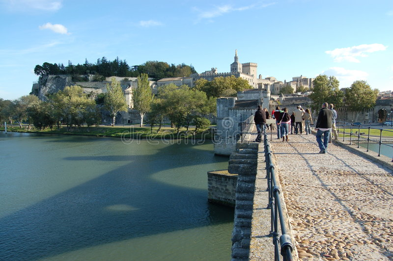 Pont d'Avignon. (St-Benezet). Avignon. France royalty free stock photos