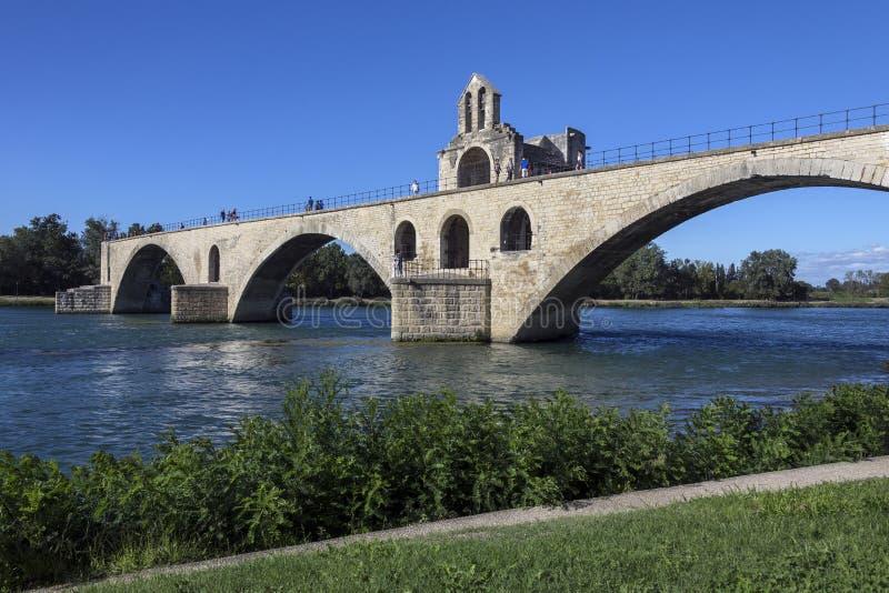 Pont d'Avignon - Avignon - Frankrijk royalty-vrije stock fotografie