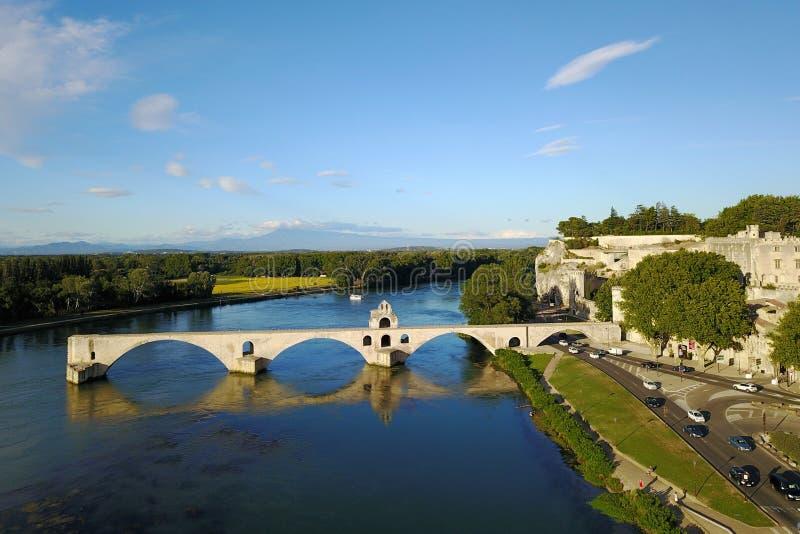 Pont D`Avignon, France stock image