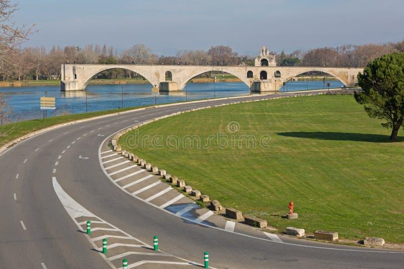Pont d Avignon royalty free stock photo