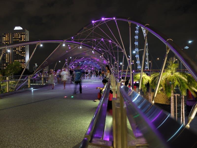 Pont d'hélice images stock