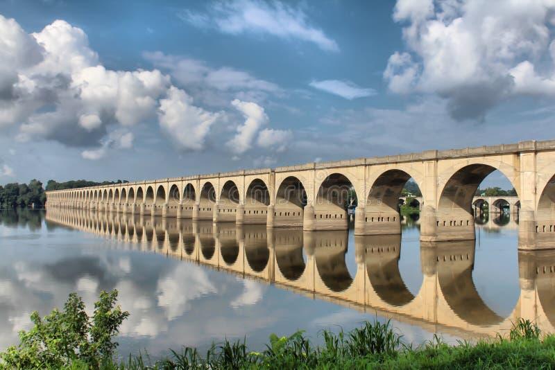 Pont d'Harrisburg photo libre de droits