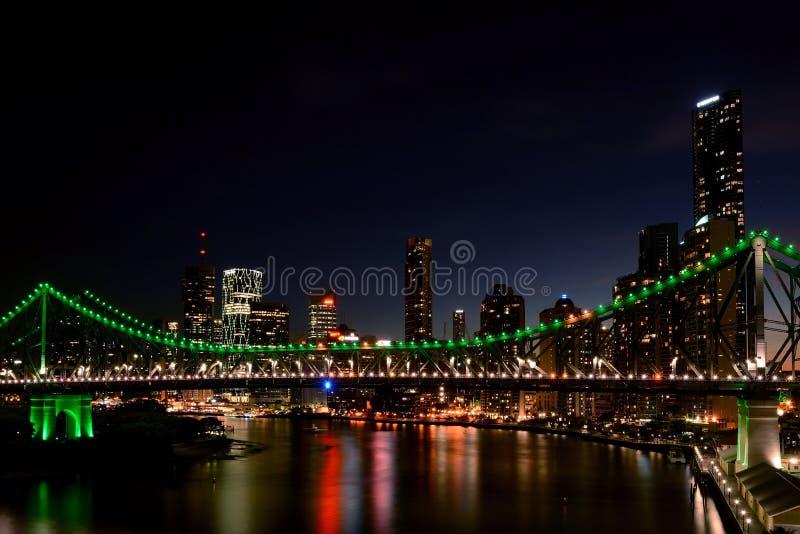 Pont d'histoire, Australie de Brisbane photos libres de droits