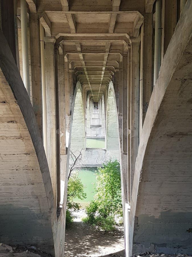 Pont d'université images libres de droits