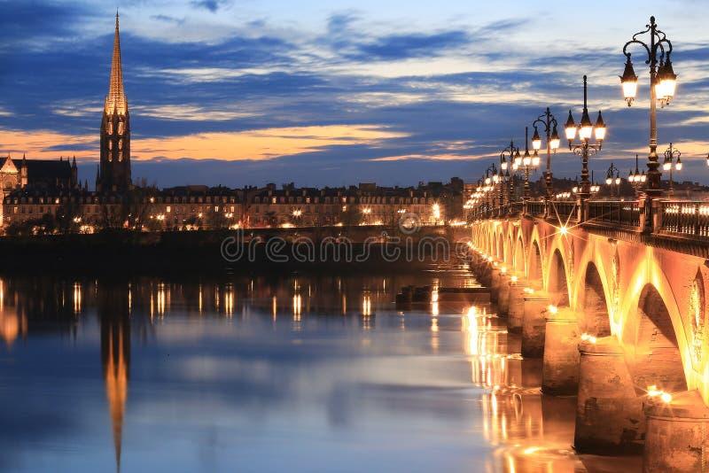 Pont de皮埃尔桥梁 库存照片