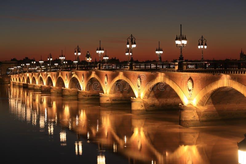 Pont de皮埃尔桥梁 库存图片