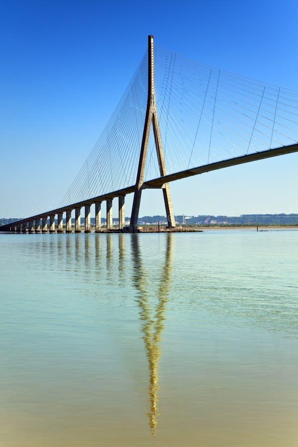 pont de Франции havre le normandie стоковая фотография