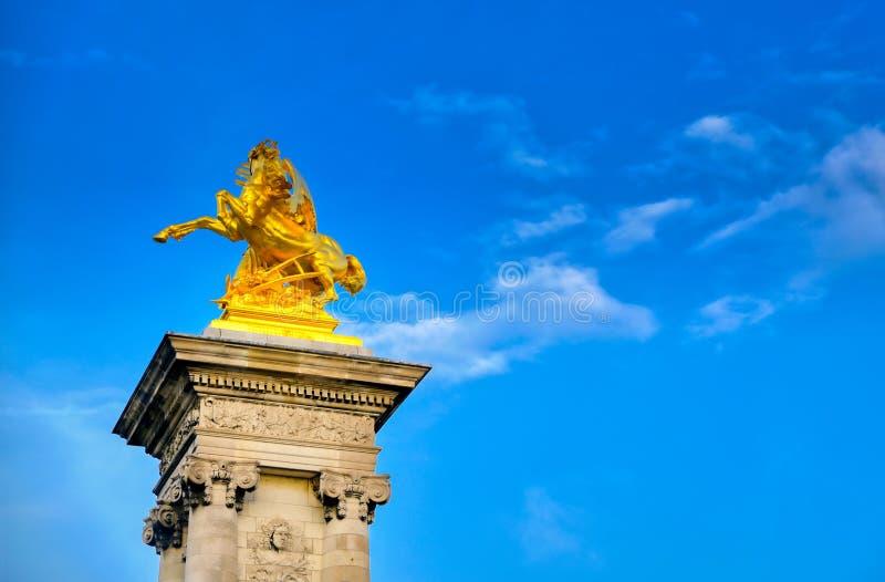 Pont de Pont Alexandre III ? Paris, France photographie stock