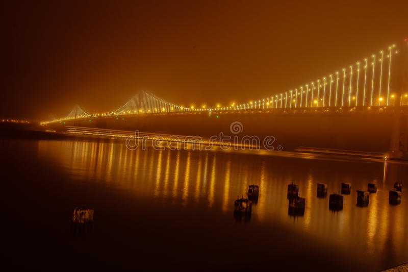 Pont de baie image stock