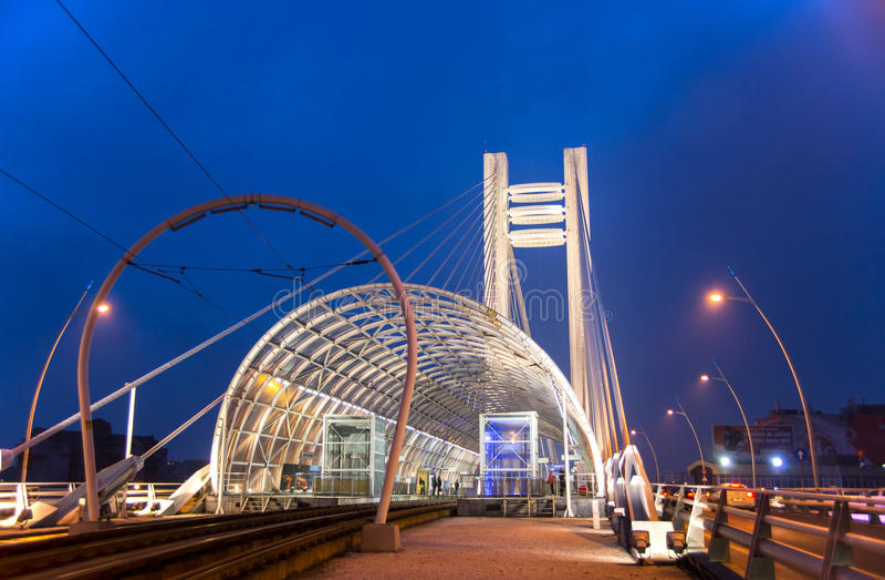 Pont de Basarab, Bucarest photo stock