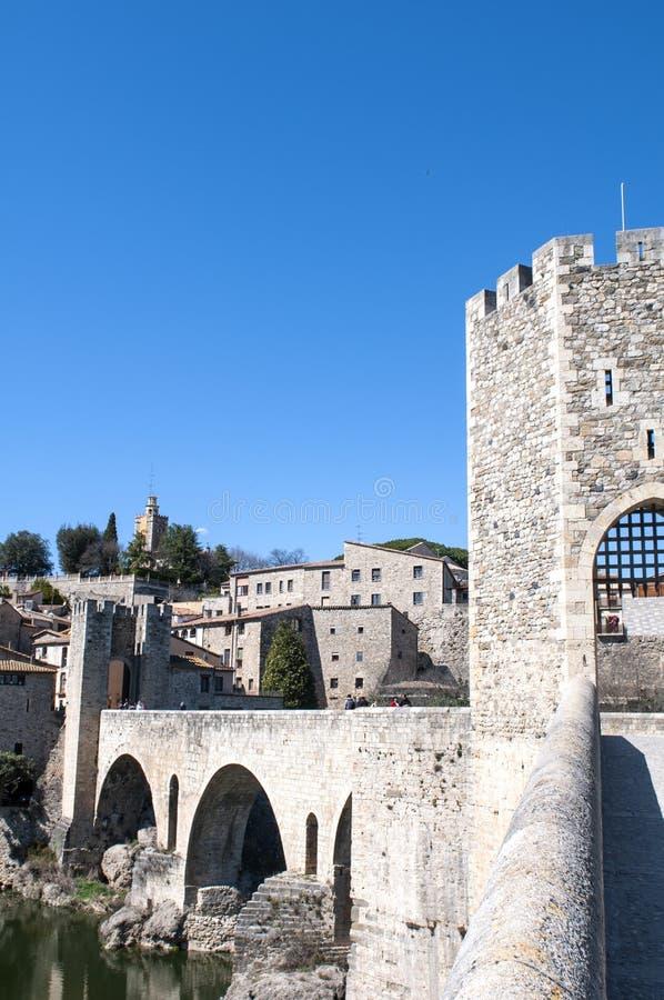 Pont de Besalu image libre de droits