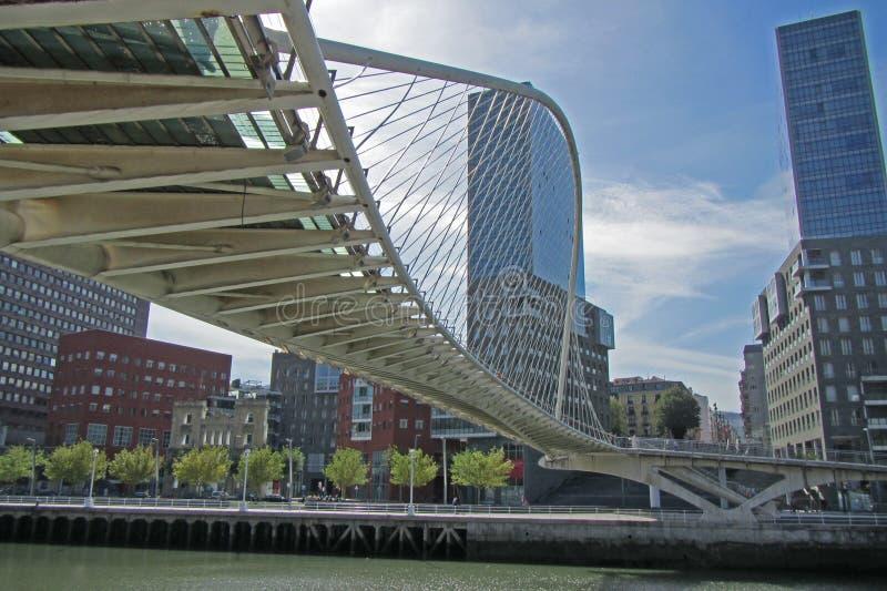 Pont de Bilbao image libre de droits