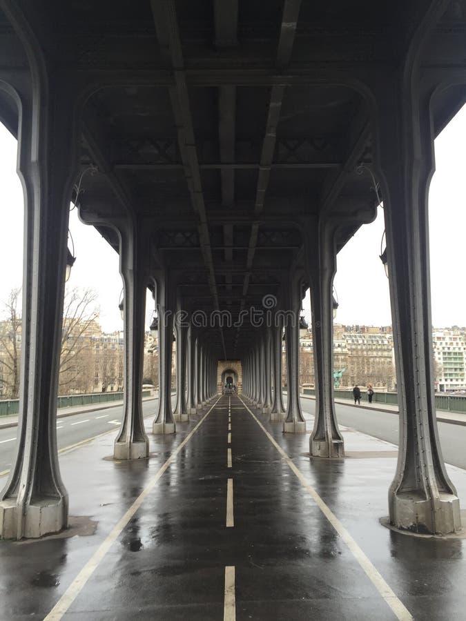 Pont de Bir-Hakeim fotografie stock libere da diritti