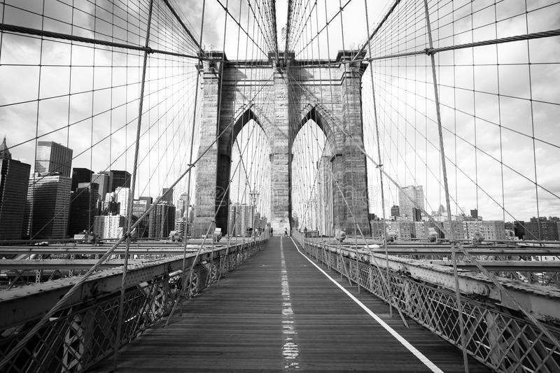 Pont de Brooklyn photo stock