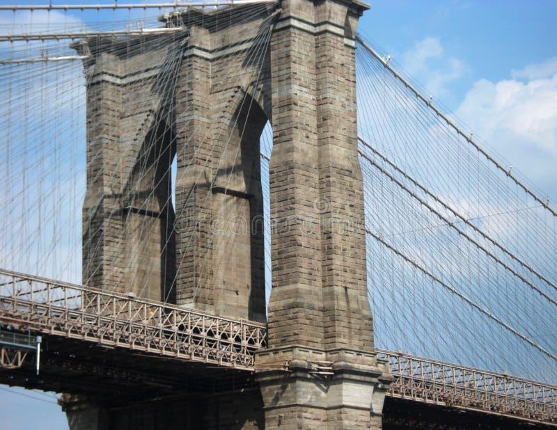 Pont de Brooklyn New York 1 images libres de droits