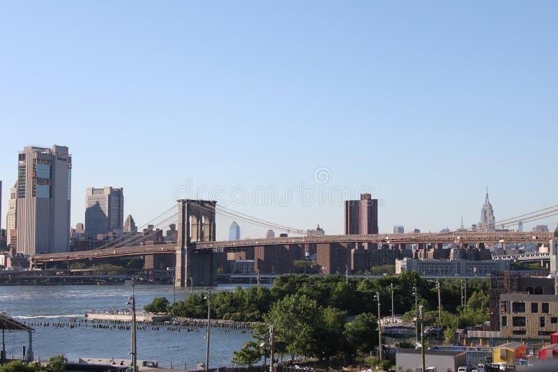 Pont de Brooklyn - New York photos libres de droits
