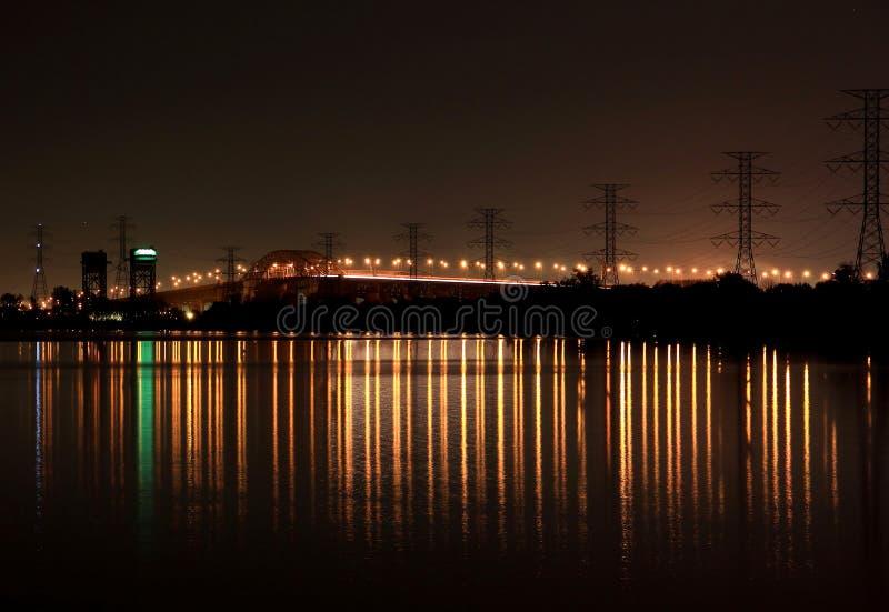 Pont de Burlington Ontario Skyway photos stock