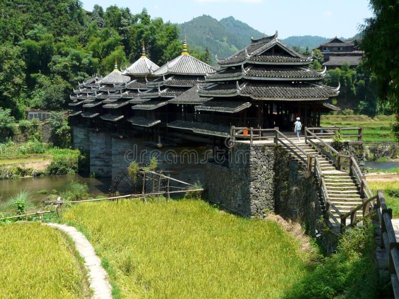 Pont de Chengyang images stock