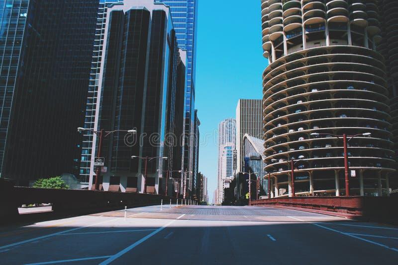 Pont de Chicago image libre de droits