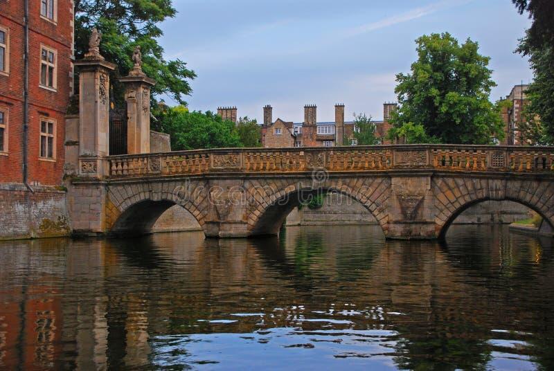 Pont de cuisine à la rivière de came photographie stock libre de droits