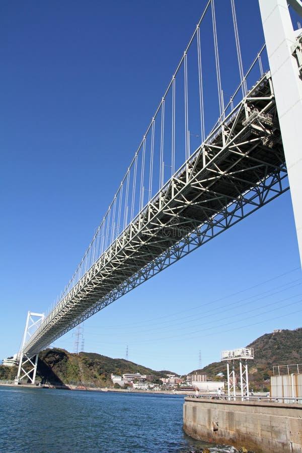 Pont de détroit de Kammon image stock