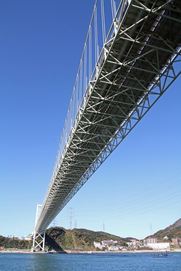 Pont de détroit de Kammon photos libres de droits