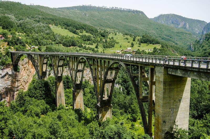Pont de Djurdjevic photographie stock