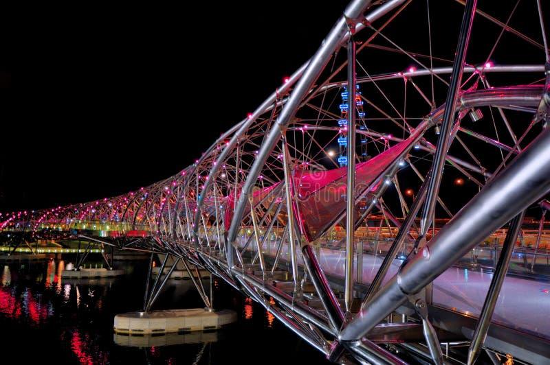 Pont de double hélice image libre de droits