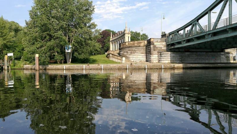 Pont de Glienicke image libre de droits