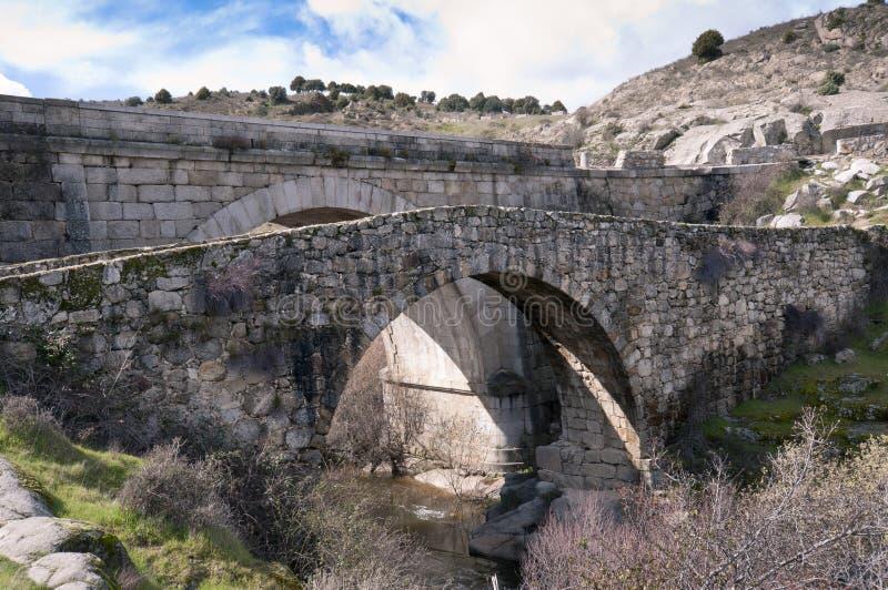 Pont de Grajal photographie stock libre de droits