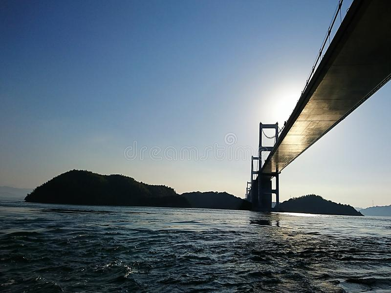 Pont de Kurushima Kaikyo photo libre de droits