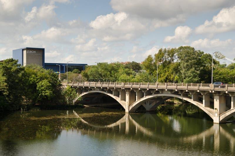 Pont de Lamar en Austin Texas photos stock