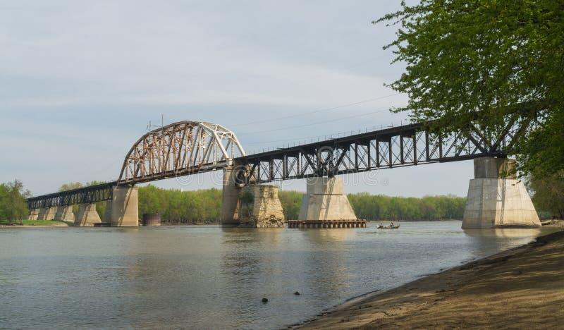 Pont de LaSalle Eail image libre de droits