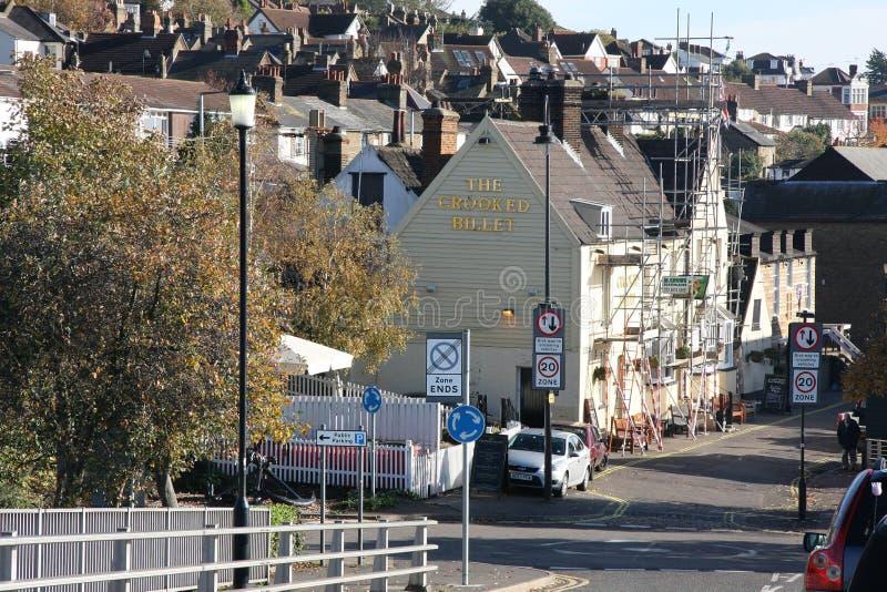 Pont de Leigh photos libres de droits