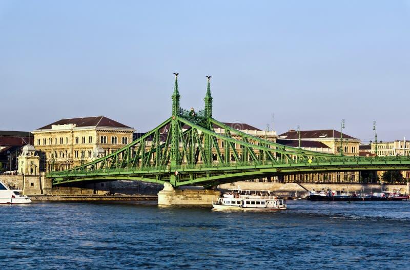 Pont de liberté (Szabadsag) images stock