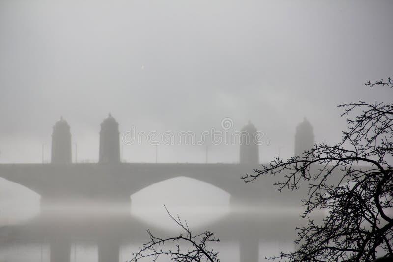 Pont de Longfellow à Boston photos libres de droits