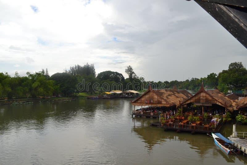 Pont De Los angeles rivière kwaï obrazy stock