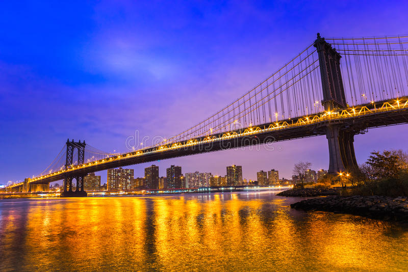 Pont de Manhattan, New York City photographie stock