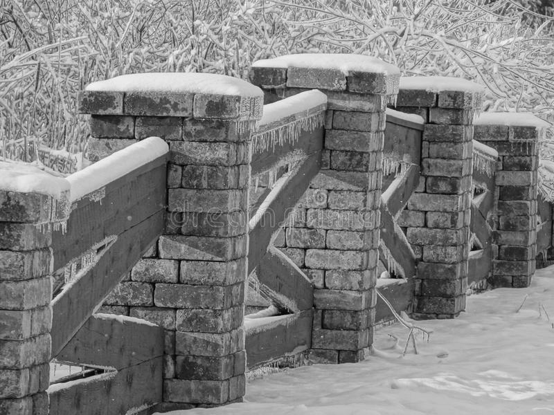 Pont de Milou photo libre de droits