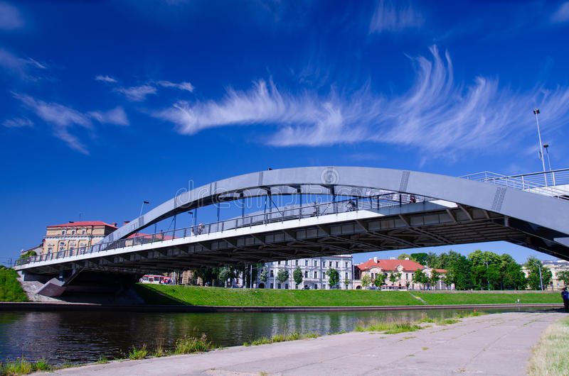 Pont de Mindaugas photos stock